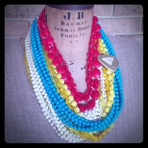 Create this look from my closet 4 necklaces